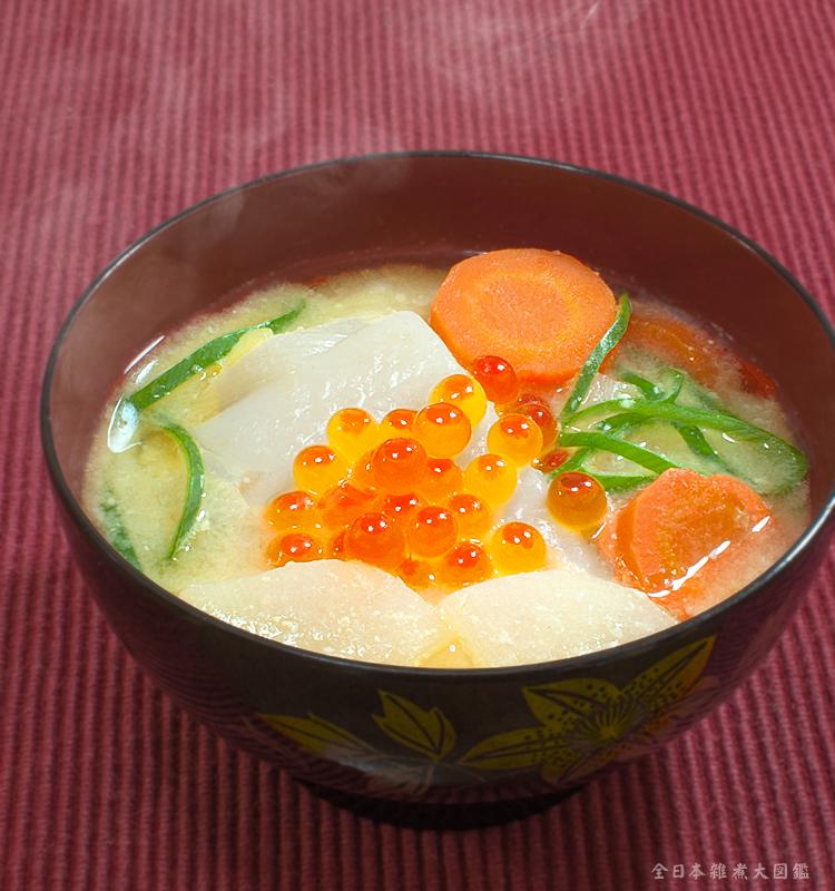 北海道風雑煮